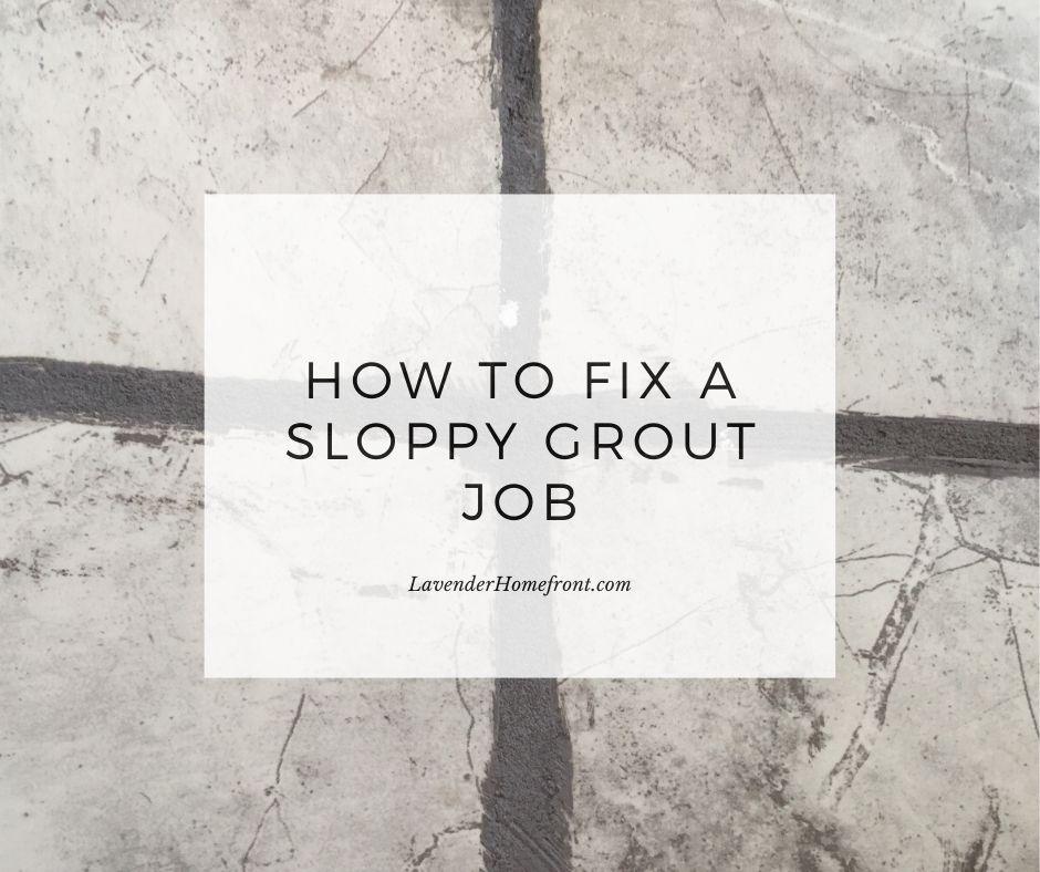 slppy grout job main photo