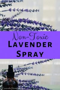 how to make non toxic lavender spray