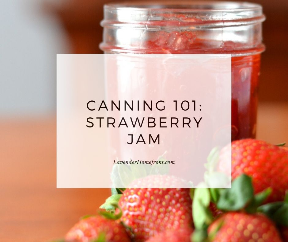 strawberry jam in jar main photo