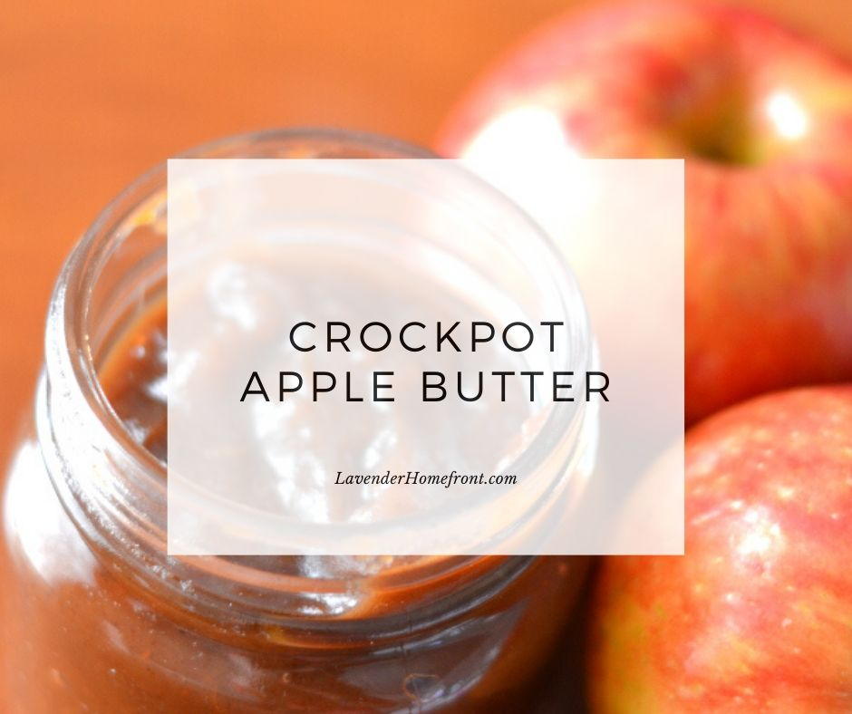 apple butter made in a crock-pot main image