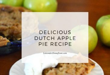 dutch apple pie main image