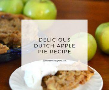 dutch apple pie main image