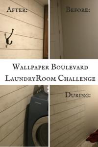 Wallpaper boulevard laundryroom challenge