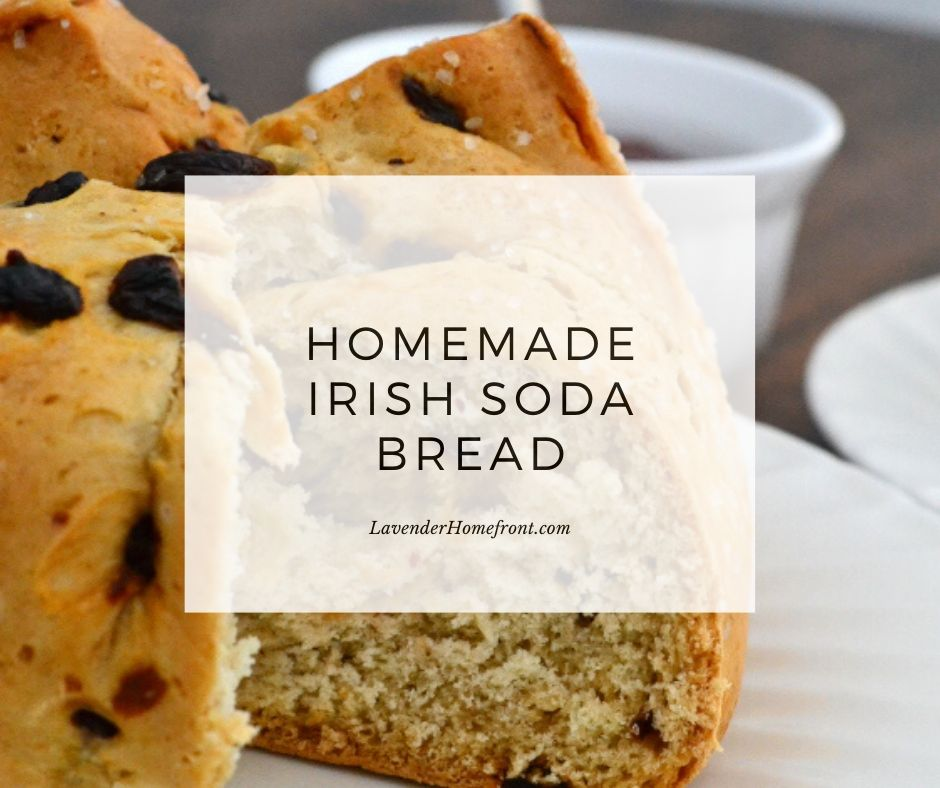 how to make irish soda bread for St. Patrick's Day