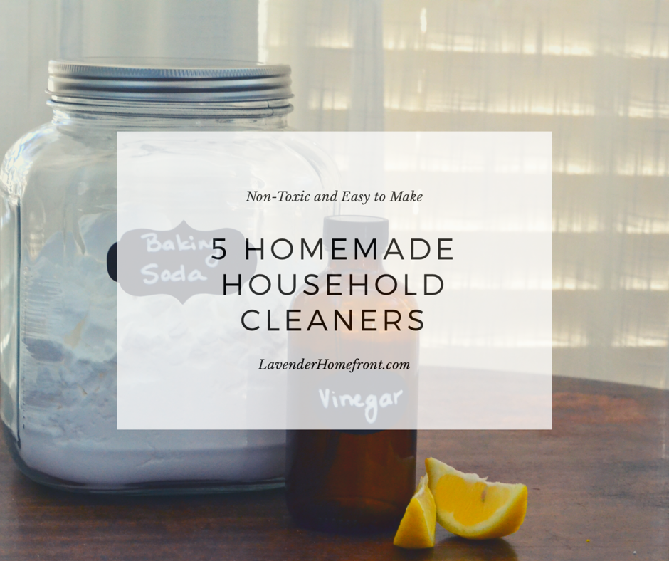 5 homemade eco-friendly cleaners