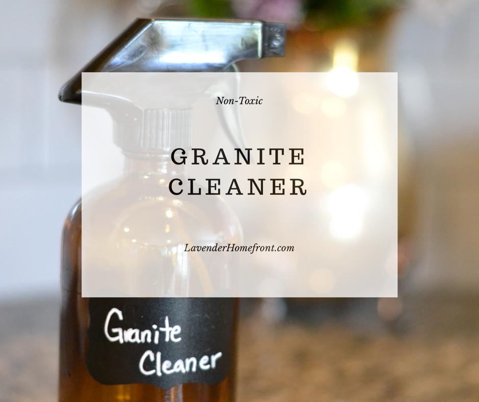 Non-Toxic Granite Cleaner