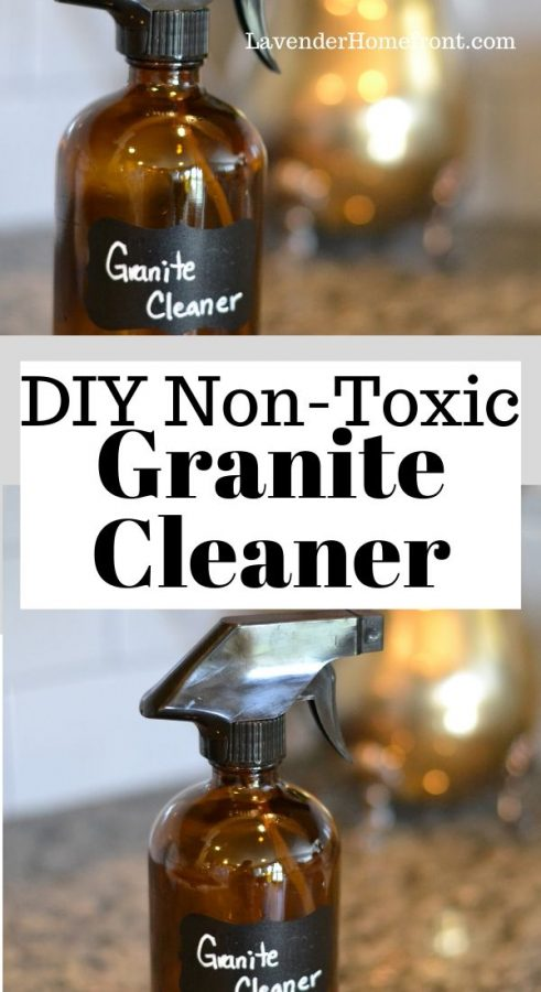 non-toxic granite cleaner pinnable image