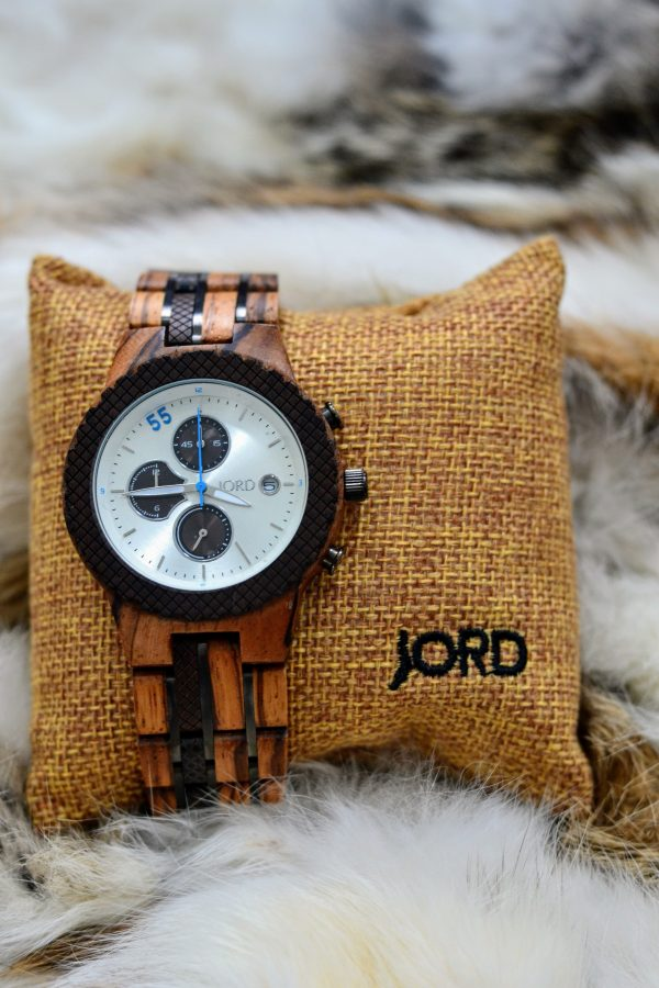 JORD Conway unique wood watch, masculine and sustainable
