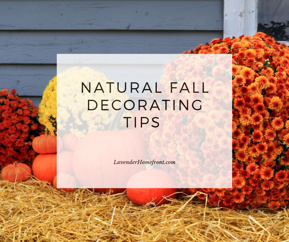 How to decorate your home with natural products