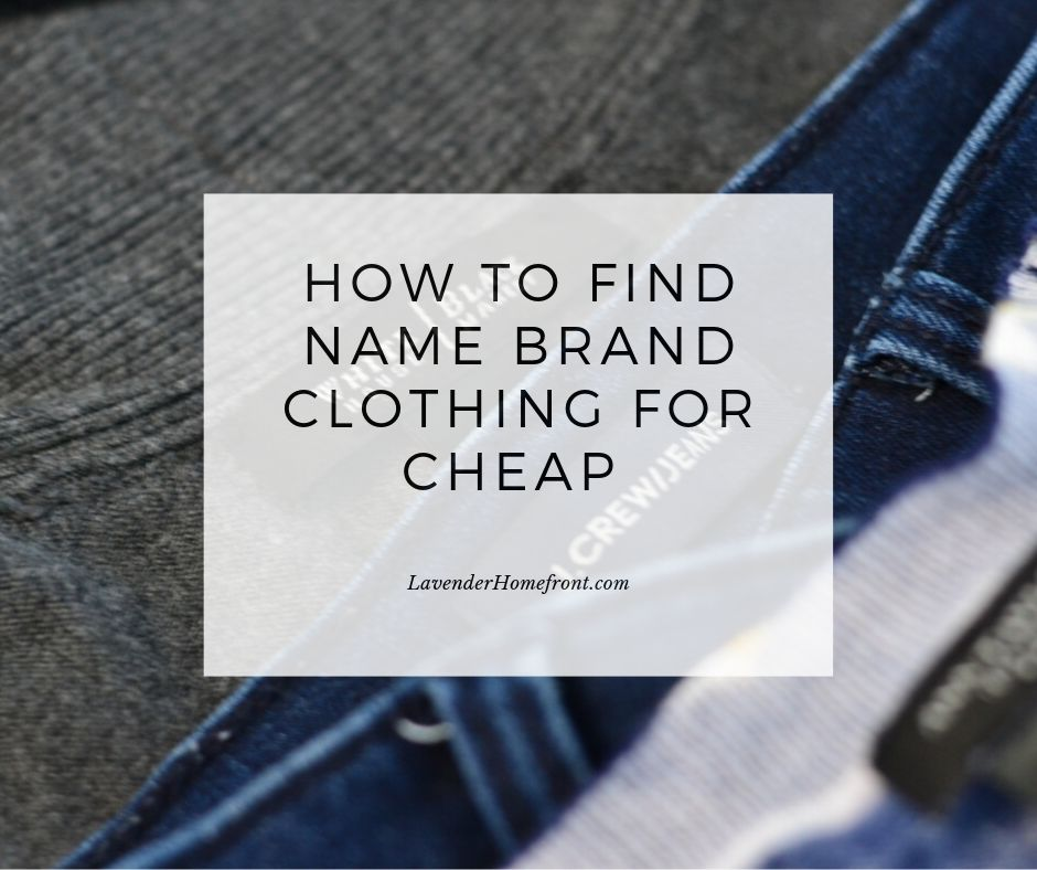 how to find the best clothes second hand