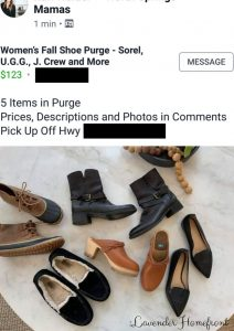 buying brand name clothes on facebook pages