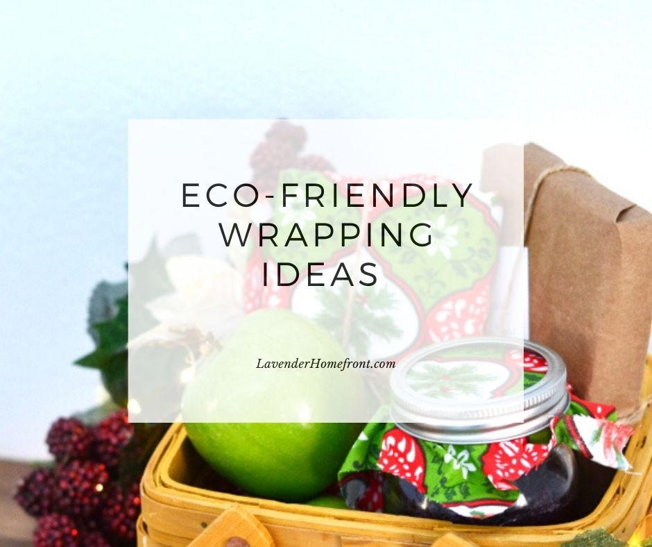 Great ideas for frugal and eco-frinedly gift wrapping