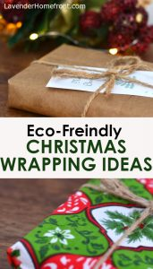 sustainable christmas wrapping options