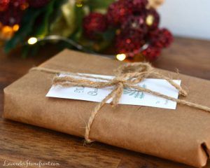 paper bag eco-friendly gift wrapping