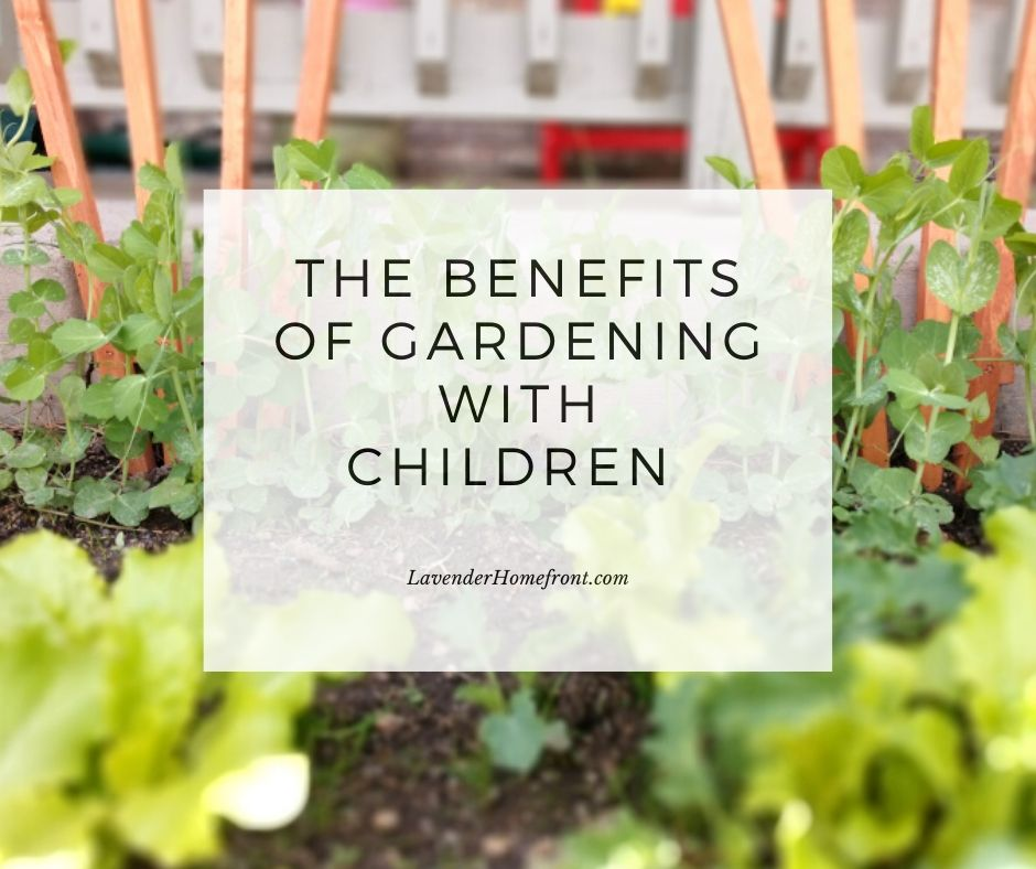 why should should be teaching your children how to garden