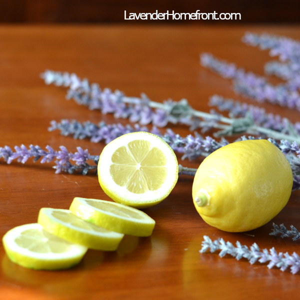 lavender and lemon scented sachet for non-toxic at home fragrance