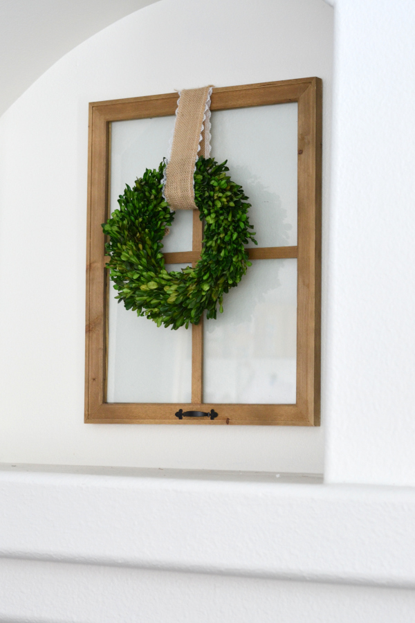 recyled frame for home decor