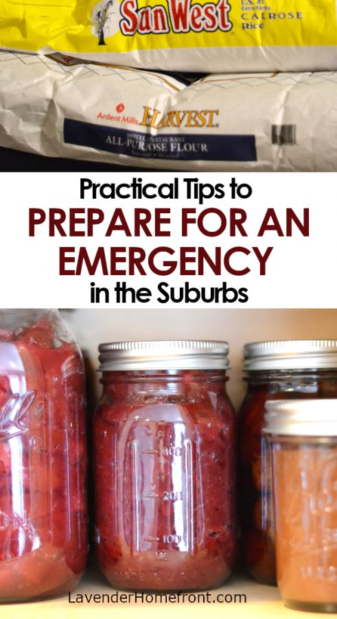 Preparing for an emergency in the suburbs pinnable image