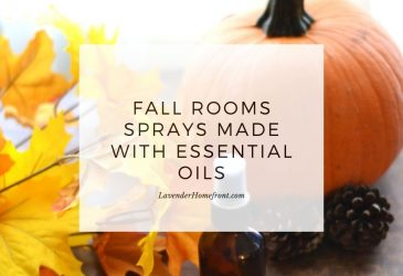fall room spray main image with text overlay
